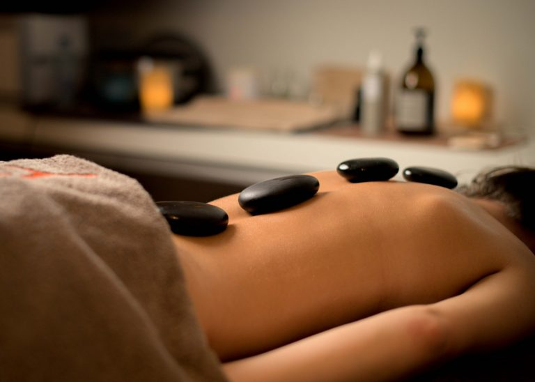 hotstone massage sane thermen